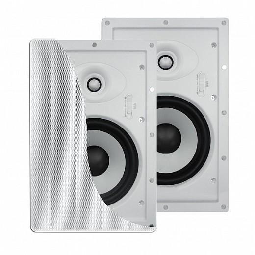 עדכני זוג רמקולים שקועי קיר Pure Acoustics IW-87 | רמקול שקוע מלבני QT-76